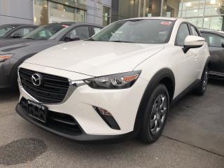 New 2019 Mazda CX-3 Gx Fwd for sale in North Vancouver, BC