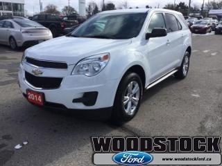 Used 2014 Chevrolet Equinox LS  - Bluetooth -  SiriusXM for sale in Woodstock, ON