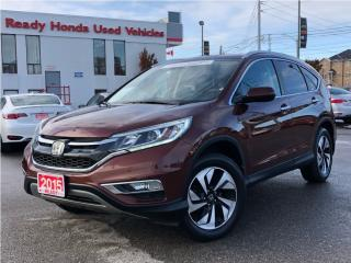 Used 2015 Honda CR-V Touring - Navigation - Leather - NEW TIRES for sale in Mississauga, ON