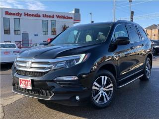 Used 2016 Honda Pilot EX-L  - Leather - Sunroof - Running Boards for sale in Mississauga, ON