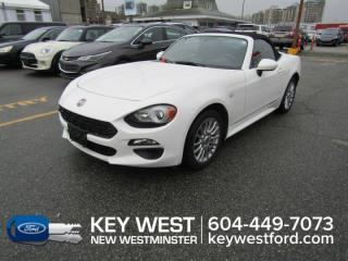 Used 2017 Fiat 124 Spider Classica *One Owner, No Accidents* Leather Nav Cam for sale in New Westminster, BC