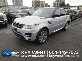 Used 2016 Land Rover Range Rover Sport V8 SC Dynamic 4WD Sunroof Leather for sale in New Westminster, BC