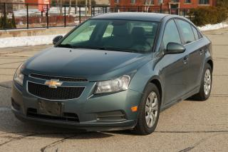 Used 2012 Chevrolet Cruze LT Turbo 1-Owner | HWY KMs | CERTIFIED for sale in Waterloo, ON