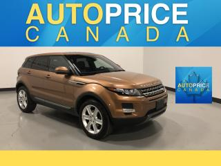 Used 2014 Land Rover Evoque Pure Plus NAVIGATION|PANOROOF|LEATHER for sale in Mississauga, ON