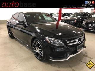 Used 2015 Mercedes-Benz C-Class C400 4MATIC PREMIUM SPORT LED RED INT! for sale in Vaughan, ON