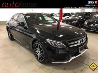 Used 2016 Mercedes-Benz C-Class C300 4MATIC PREMIUM PLUS SPORT LED RED INT! for sale in Vaughan, ON