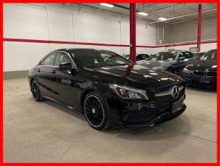 Used 2018 Mercedes-Benz CLA-Class CLA250 4MATIC NAVI PANORAMIC PREMIUM PLUS SPORT HARMAN/KARDON for sale in Vaughan, ON