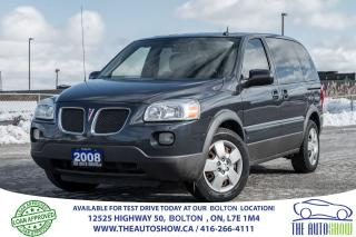 Used 2008 Pontiac Montana 1 OWNER, ACCIDENT FREE, LOW KM'S, CLEAN for sale in Bolton, ON