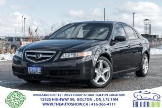 Used 2006 Acura TL NAVIGATION GPS CERTIFIED STUNNING LOW KM'S for sale in Bolton, ON