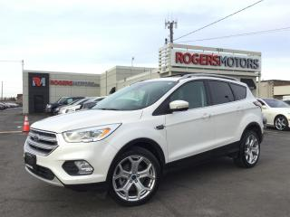Used 2017 Ford Escape TITANIUM 4WD - NAVI - PANO ROOF - SELF PARKING for sale in Oakville, ON