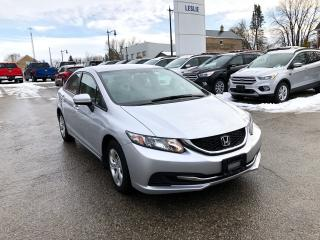 Used 2015 Honda Civic LX | One Owner | Winter Tires Included for sale in Harriston, ON