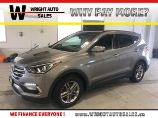 Used 2017 Hyundai Santa Fe Sport |LEATHER|MOONROOF|BLUETOOTH|35,403 KM for sale in Cambridge, ON