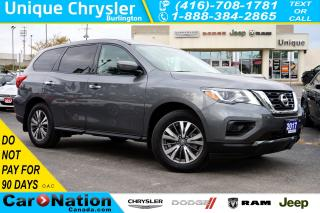 Used 2017 Nissan Pathfinder S| BLUETOOTH| REAR CAM| TRI-ZONE CLIMATE & MORE for sale in Burlington, ON