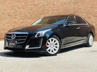 Used 2014 Cadillac CTS Sedan 2.0L Turbo|TEXTUSFORPRICE|647.678.7778|LEATHER for sale in Mississauga, ON