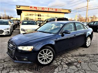Used 2014 Audi A4 Progressiv|NAVI|SUNROOF| for sale in Mississauga, ON
