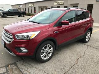 Used 2018 Ford Escape SEL,FWD,LEATHER,NAV,REAR VIEW CAMERA for sale in Burlington, ON