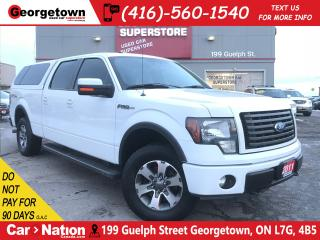 Used 2011 Ford F-150 FX4 | CREW | SUNROOF | 4X4 | 5.0L | CAP | for sale in Georgetown, ON