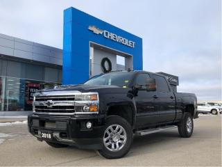 Used 2018 Chevrolet Silverado 3500 JET BLK/ASH GRY Lthr-Appt for sale in Barrie, ON