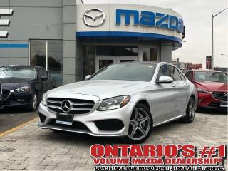 Used 2015 Mercedes-Benz C 300 4MATIC, PANORAMIC, AMG PKG for sale in Toronto, ON