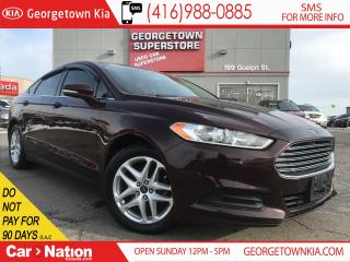 Used 2013 Ford Fusion SE | 2.5L | ALLOYS | BLUETOOTH | PWR SEAT for sale in Georgetown, ON