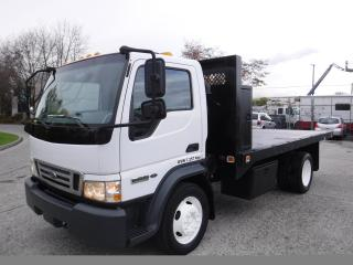Used 2006 Ford LCF 450 14 Foot Flat Deck Regular Cab Dually  2WD Diesel for sale in Burnaby, BC