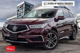 Used 2017 Acura MDX Tech 7yr Warranty Included Acura Certified! Accide for sale in Thornhill, ON
