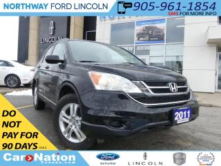 Used 2011 Honda CR-V EX-L 4WD | HEATED LEATHER | MOON ROOF | TOW PKG | for sale in Brantford, ON