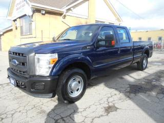 Used 2012 Ford F-250 XL Crew Cab 8Ft Box Heavy Duty 3/4Ton ONLY 77,000K for sale in Etobicoke, ON