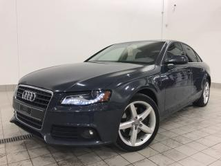 Used 2011 Audi A4 2.0T PREMIUM for sale in Terrebonne, QC