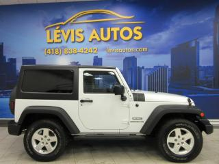 Used 2011 Jeep Wrangler Sport 4x4 A/c Cruise for sale in Lévis, QC
