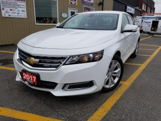 Used 2017 Chevrolet Impala LT-FACTORY WARRANTY-APPLE CAR PLAY-BLUETOOTH for sale in Tilbury, ON