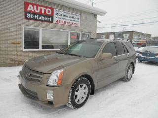 Used 2007 Cadillac SRX AWD ** 7 PASSAGERS ** for sale in St-Hubert, QC
