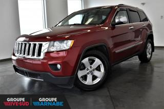Used 2012 Jeep Grand Cherokee OVERLAND|V8HEMI+NAVIGATION+TOIT PANO+CAM for sale in St-Jean-Sur-Richelieu, QC