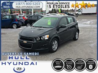 Used 2015 Chevrolet Sonic Lt, Bancs Ch for sale in Gatineau, QC