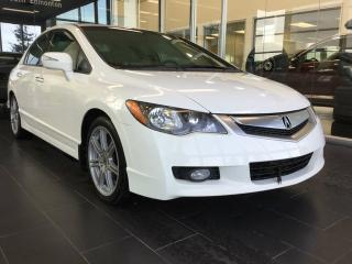 Used 2009 Acura CSX ACCIDENT FREE, HEATED SEATS, SUNROOF for sale in Edmonton, AB