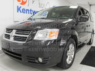 Used 2010 Dodge Grand Caravan SXT FWD, heated power drivers seat, back up cam, DVD entertainment system for sale in Edmonton, AB