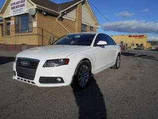 Used 2012 Audi A4 2.0T Quattro Premium Auto Leather Sunroof 211K for sale in Rexdale, ON