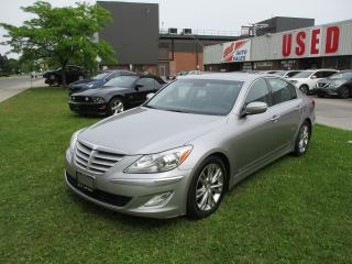 Used 2012 Hyundai Genesis w/Premium Pkg~LEATHER~NAV.~ALL POWER OPTIONS for sale in Toronto, ON