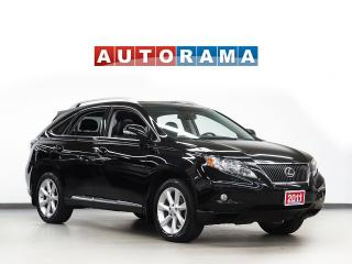 Used 2011 Lexus RX 350 NAVIGATION LEATHER SUNROOF BACK UP CAM AWD for sale in Toronto, ON