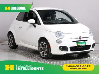 Used 2016 Fiat 500 SPORT A/C GR ELECT for sale in St-Léonard, QC