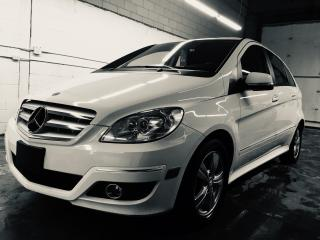 Used 2010 Mercedes-Benz B-Class B 200 Low Kms In Arctic White for sale in Mississauga, ON