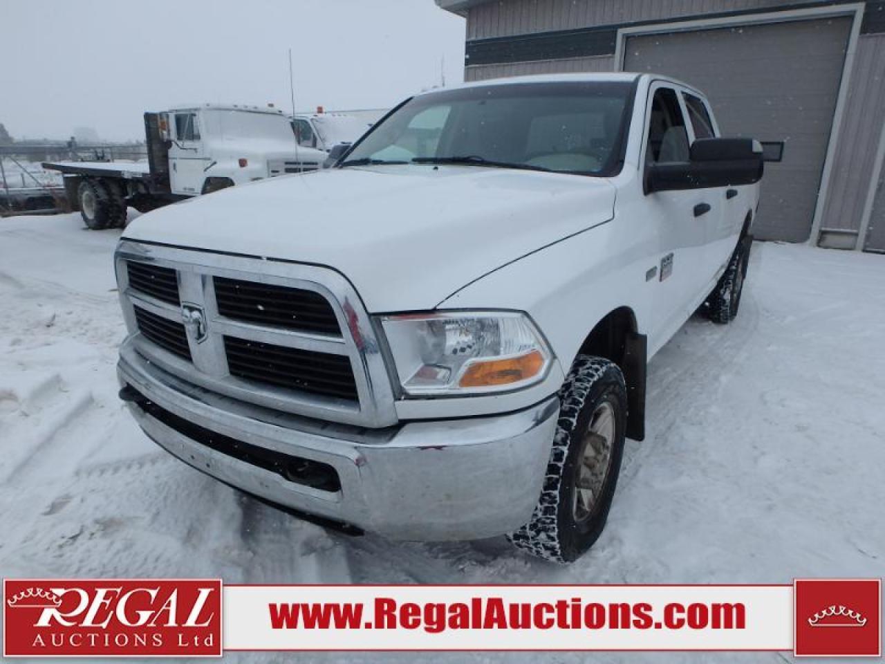 Photo of White 2011 Dodge Ram 2500