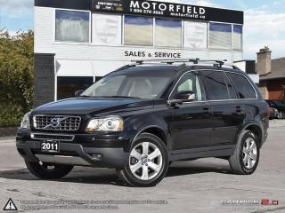 Used 2011 Volvo XC90 Premium II *ACCIDENT FREE, DVD, 7-PASS* for sale in Toronto, ON