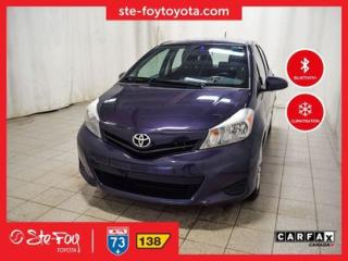 Used 2014 Toyota Yaris Le A/c, Bluetooth for sale in Québec, QC