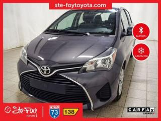 Used 2015 Toyota Yaris Le A/c, Bluetooth for sale in Québec, QC