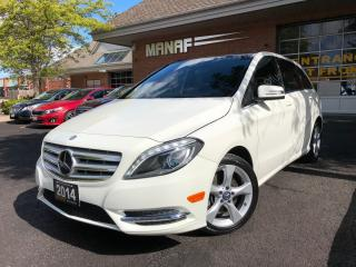 Used 2014 Mercedes-Benz B-Class Sports Leather Panoramic R-Camera Certified* for sale in Concord, ON