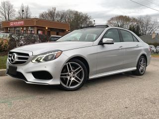 Used 2015 Mercedes-Benz E-Class E 400-4MATIC-AMG PKG-NAVI-BACKUP CAM-PANO ROOF for sale in Mississauga, ON
