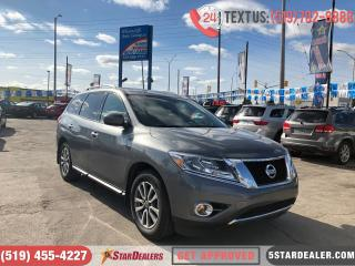 Used 2016 Nissan Pathfinder SV | 4X4 | 7PASS | CAM | HEATED SEATS for sale in London, ON