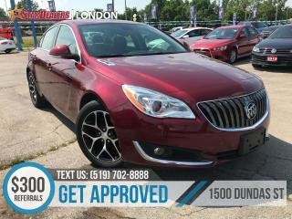 Used 2017 Buick Regal Sport | LEATHER | ONE OWNER | CAM for sale in London, ON