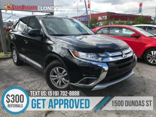 Used 2017 Mitsubishi Outlander ES | AWD | 1 OWNER | AWD for sale in London, ON